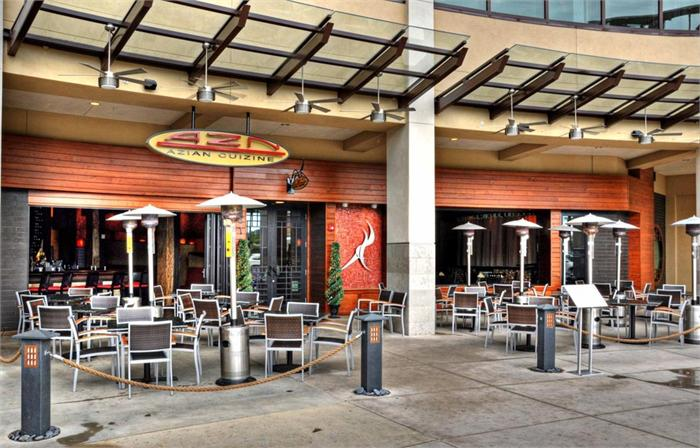 Azn Asian Fusion Restaurant At Mercato In Naples Florida