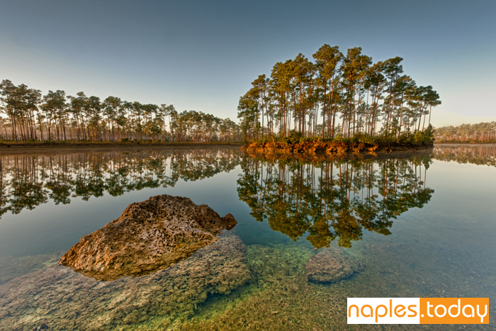 Dawn at Long Pine Key Lake