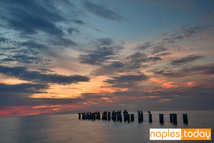 Old Naples Pier at sunset