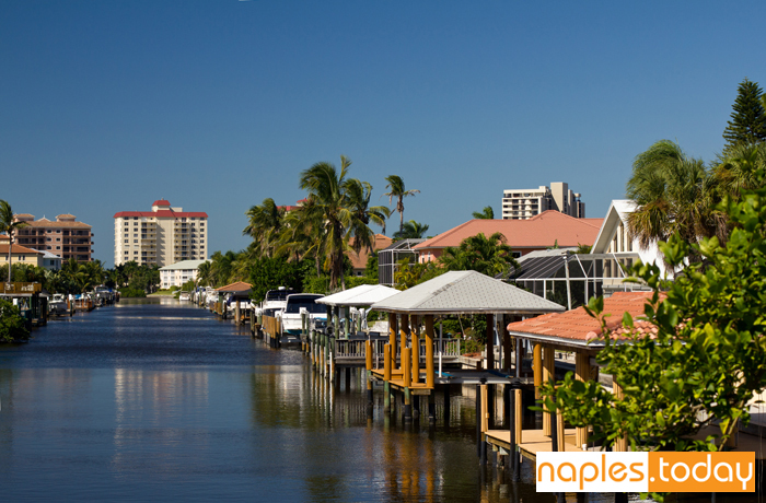 Waterfront homes in Naples Florida
