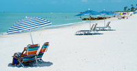 Beach vacation in Naples Florida