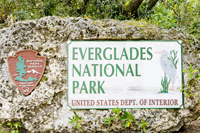 Entrance of the Everglades National Park