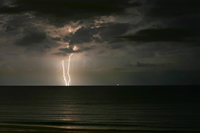 Lighting on Florida Gulf Coast