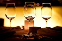 Romantic atmosphere at Naples restaurant