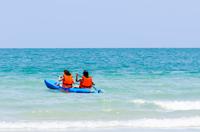 Sea kayak on Gulf of Mexico