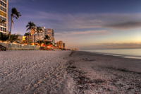Shoreline of Naples Florida