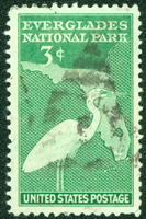 Stamp of Everglades National Park