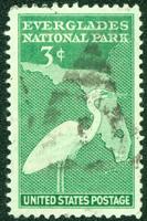 Stamp of Everglades National Park