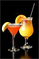 Strawberry Lemon-drop Mai Tai at AZN Azian Cuizine Mercato Naples Florida