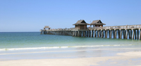 Sunny day at the Naples pier