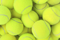 Tennis equipment in Naples Florida